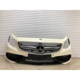Бампер передний Mercedes-Benz S-coupe W217 W222 S63 AMG с карбоном